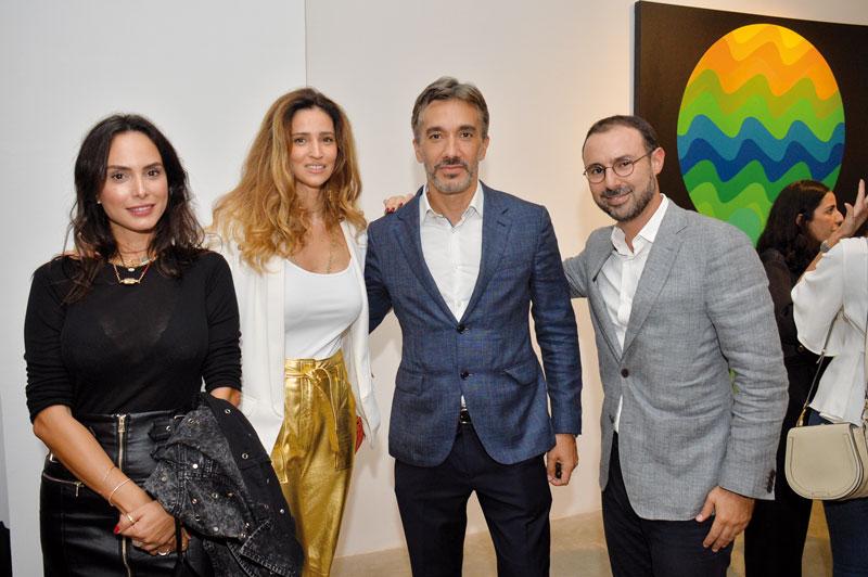 Achouak Ghazali, Selma Kettani, Driss El Alami et karim Beqqali