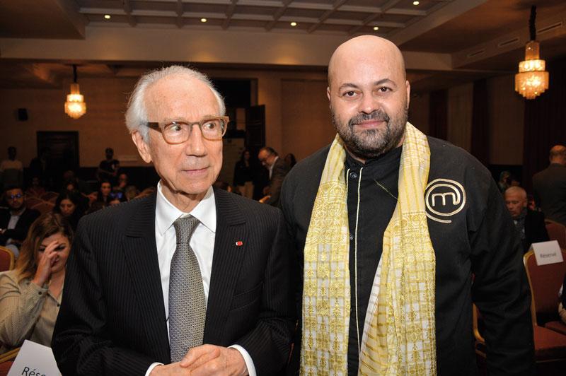 Abdelkrim Bennani et Chef Simo Majid •