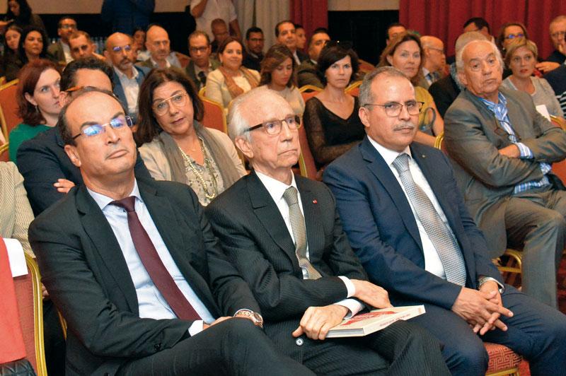 Saïd Ahmidouch, Wali de Casablanca-Settat, Abdelkrim Bennani et Mohamed Fikrat