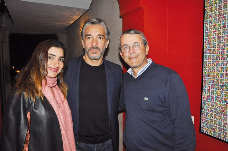 Myriem Berrada Sounni, Driss El Alami et khalid Chami •