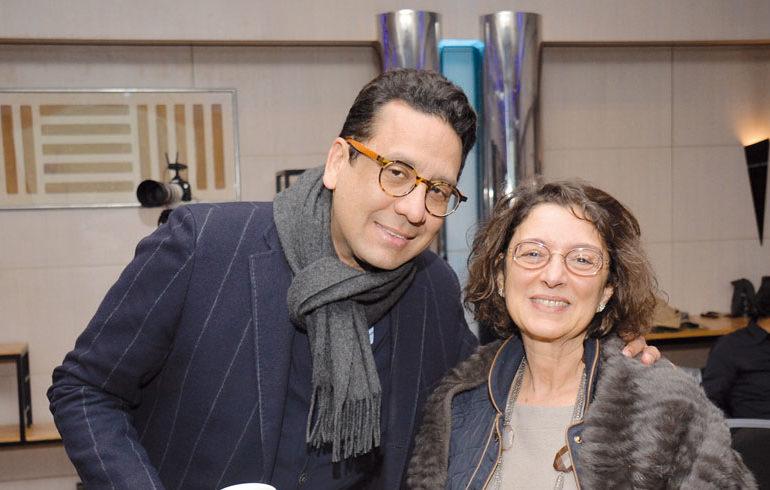 Rafik Lahlou et Saloua Benmehrez
