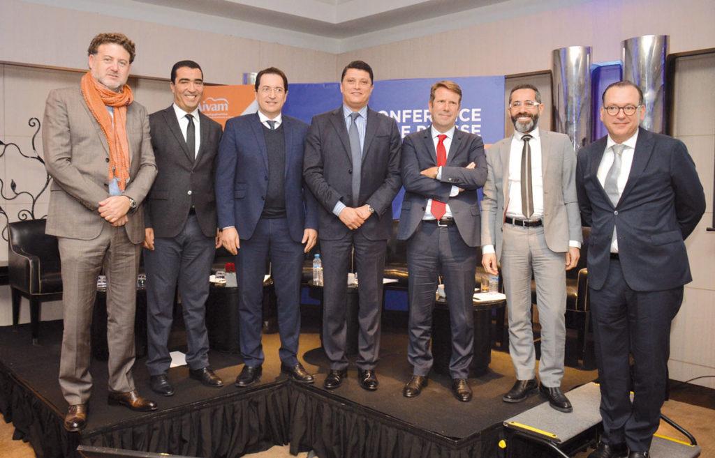 Allal Benjelloun, Abdelouahab Ennaciri, Khalid Kabbaj, Adil Bennani, Laurent Diot, Nassereddine Obada et Abdelouahid El Kadiri •