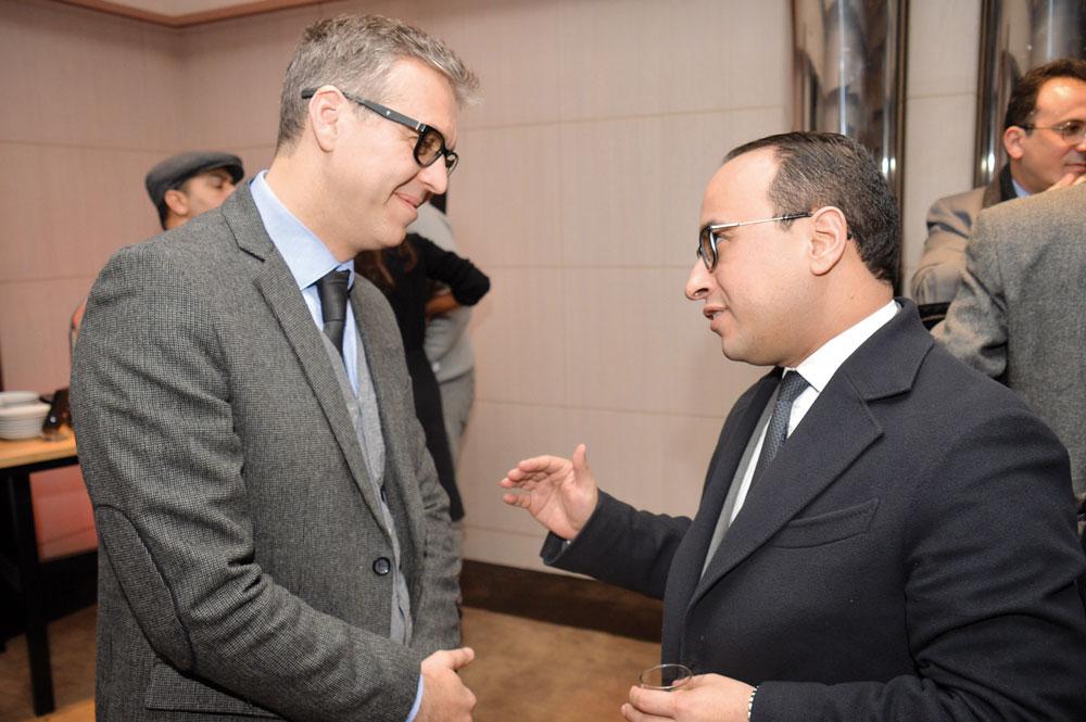 Hamid Berrada et Badr Alioua
