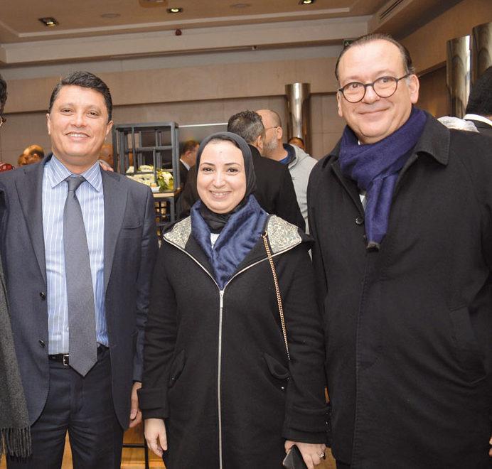 Adil Bennani, Salma Moukbil et Abdelouahid El Kadiri